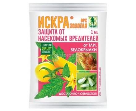 ИСКРА ЗОЛОТАЯ, ВРК / защита от насекомых-вредителей
