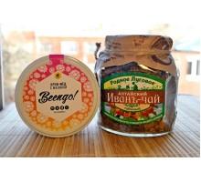 Подарочный набор: Крем-мёд + Иван-чай